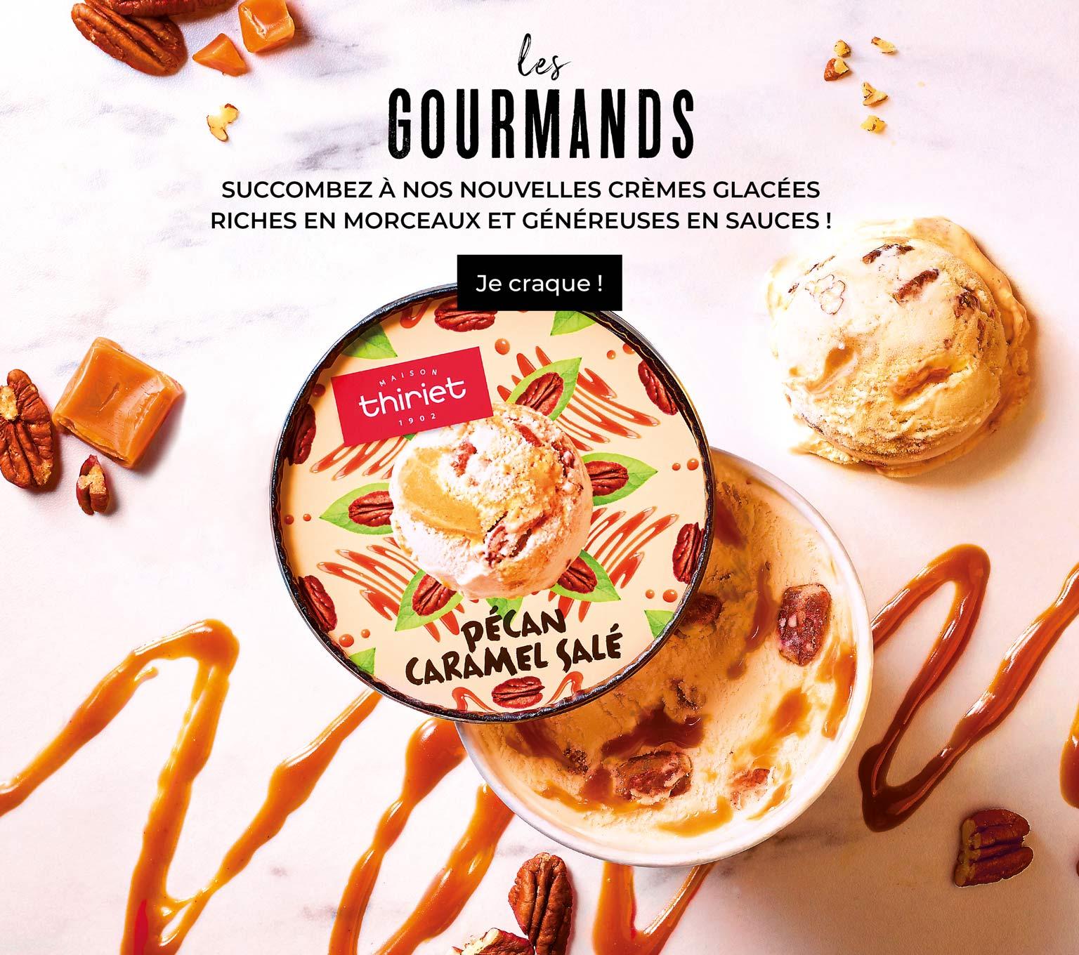 Succombez aux nouvelles crèmes glacées de la Maison Thiriet !