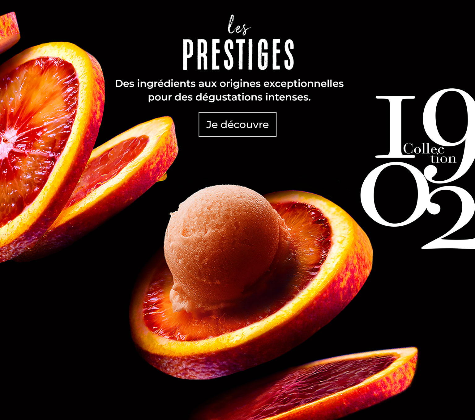 Découvrez les glaces prestiges de la collection 1902 !