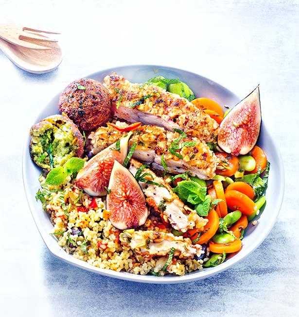 La salade orientale fait recette !