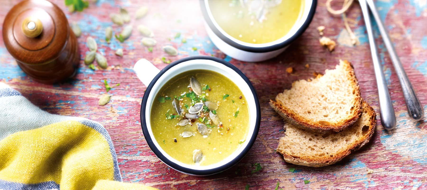 Nos soupes réchauffent aussi le cœur !