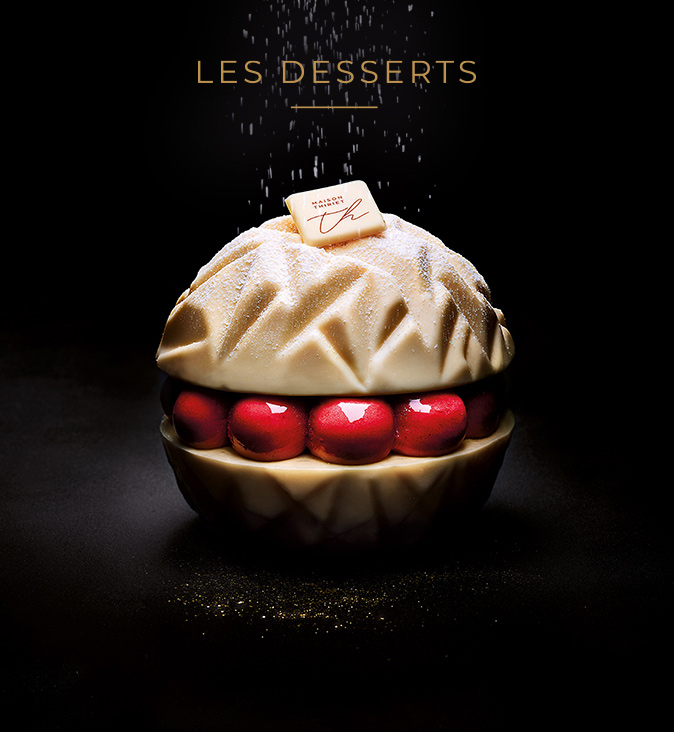 Découvrez les desserts glacés et pâtissiers de Noël de la Maison Thiriet !