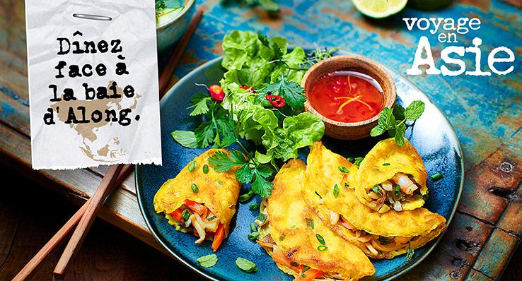Des recettes venues d'Asie pour un voyage gustatif avec la Maison Thiriet !