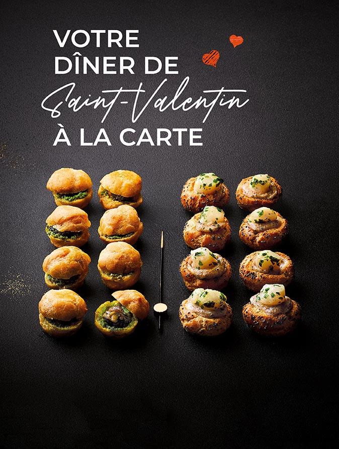 Votre dîner de Saint-Valentin à la carte avec la Maison Thiriet !