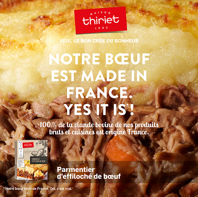Le bœuf de la Maison Thiriet est made in France !