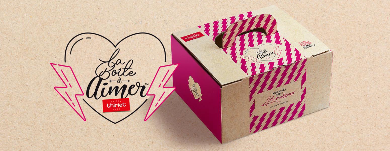 Boîtes découvertes - Idée repas en amoureux - La Boîte à Aimer™