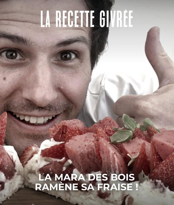 La Pavlova aux fraises, une recette givrée !