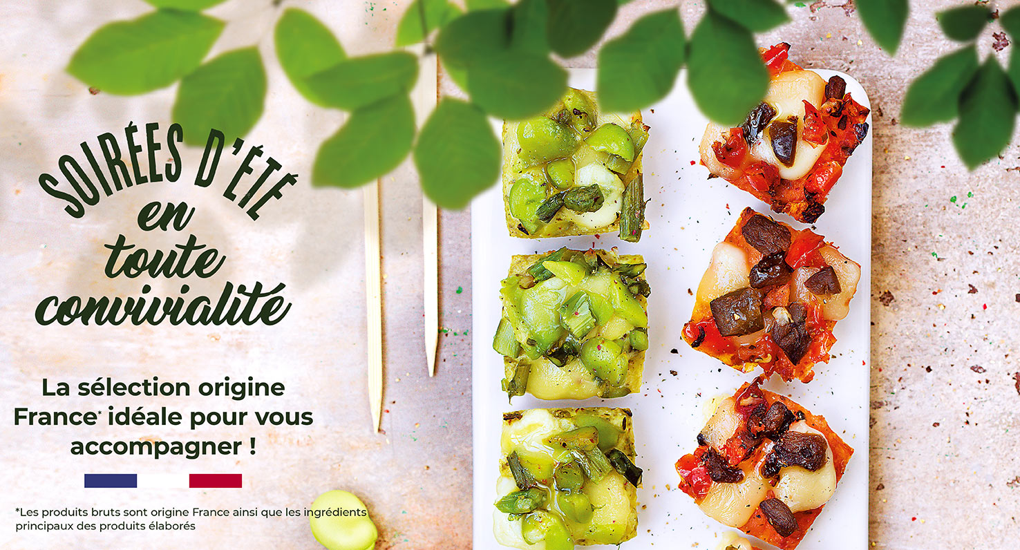 Découvrez la sélection origine France de la Maison Thiriet, idéale pour vous accompagner !