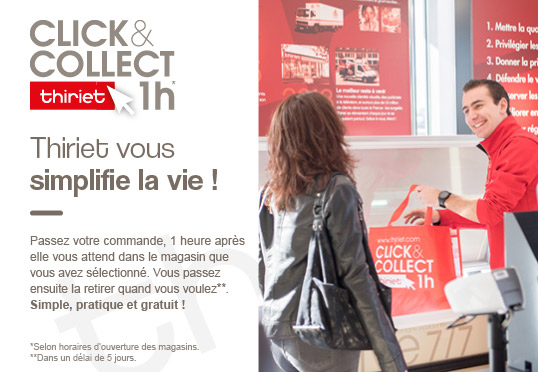 Click&Collect 1h