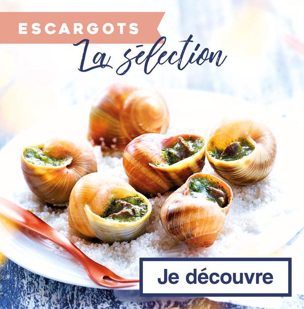 La sélection escargots