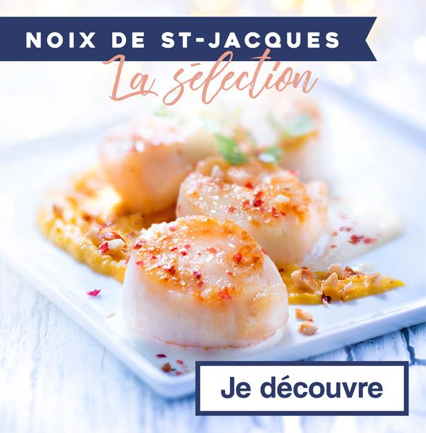 La sélection Noix de St-Jacques