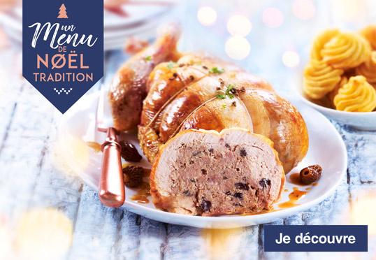 Un menu de Noël tradition