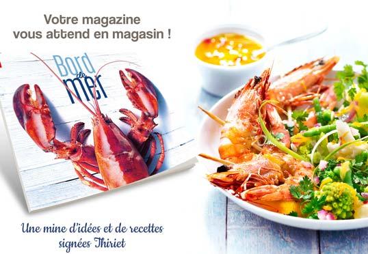 Votre magazine livré avec votre commande !