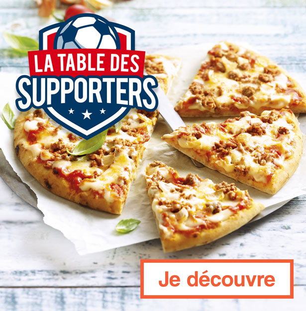 La table des supporters