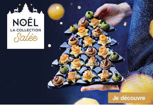 Noël, la collection salée