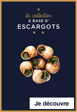 La collection à base d'escargots