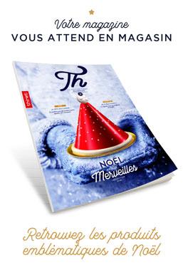 Votre magazine vous attend en magasin, retrouvez les produits emblématiques de Noël