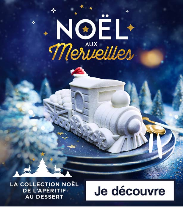 La collection Noël de l'apéritif au dessert