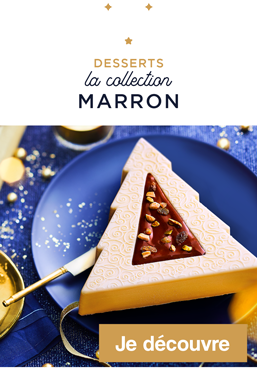 Desserts, la collection marron