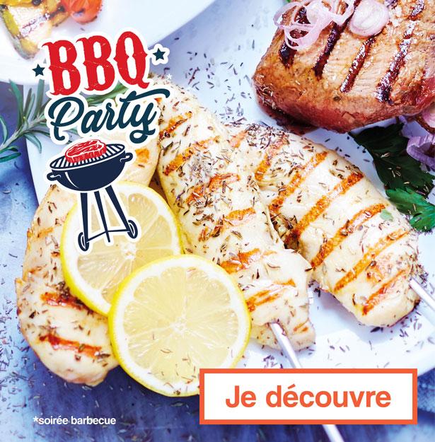 Barbecue party ! Votre Soirée Barbecue avec Thiriet !