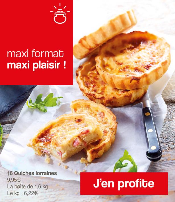 Maxi format maxi plaisir avec Thiriet !