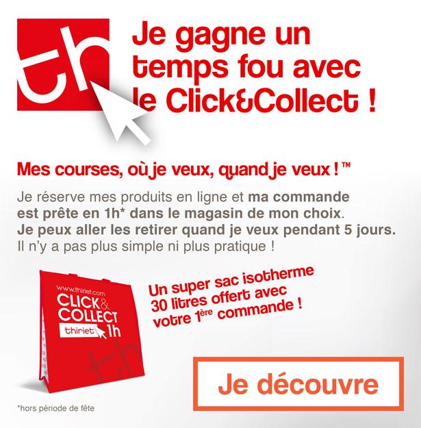 Je gagne un temps fou avec le Click&Collect !