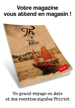 Idées et recettes : votre magazine Thiriet livré avec votre commande !