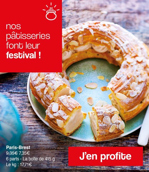 Les pâtisseries de la Maison Thiriet font leur festival !