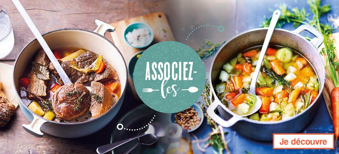 Des idées de produits à associer pour des recettes savoureuses !