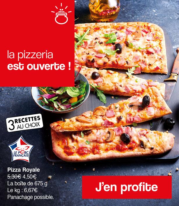 La pizzeria est ouverte ! Question choix, il y en a pour toutes les envies chez La Maison Thiriet !