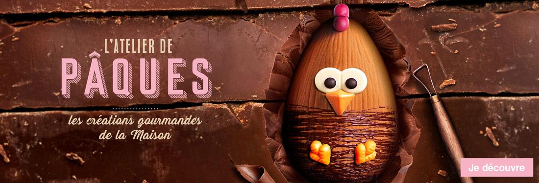 L'atelier de Pâques. Les créations gourmandes Maison Thiriet !