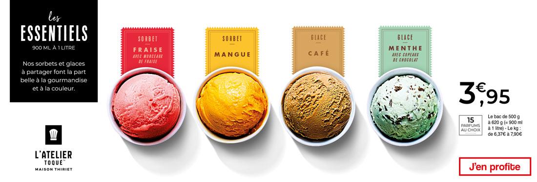 Les sorbets et glaces de Maison Thiriet font la part belle à la gourmandise !