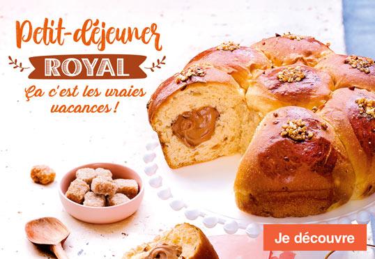 Petit-déjeuner royal, ça c'est les vraies vacances avec la Maison Thiriet !