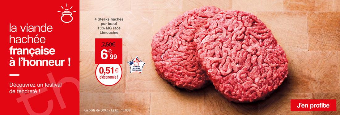 La viande hachée française de la Maison Thiriet est à l'honneur