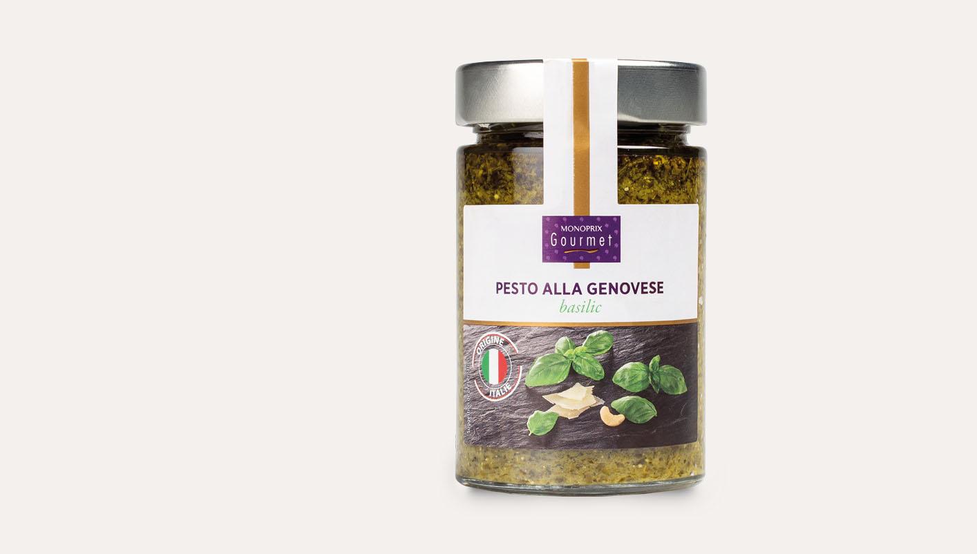 Pesto alla genovese basilic