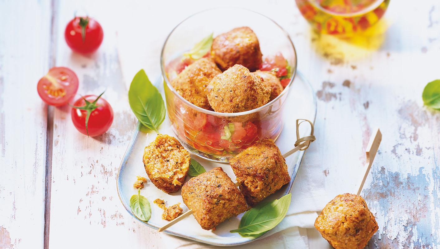 Boulettes de soja à l'italienne