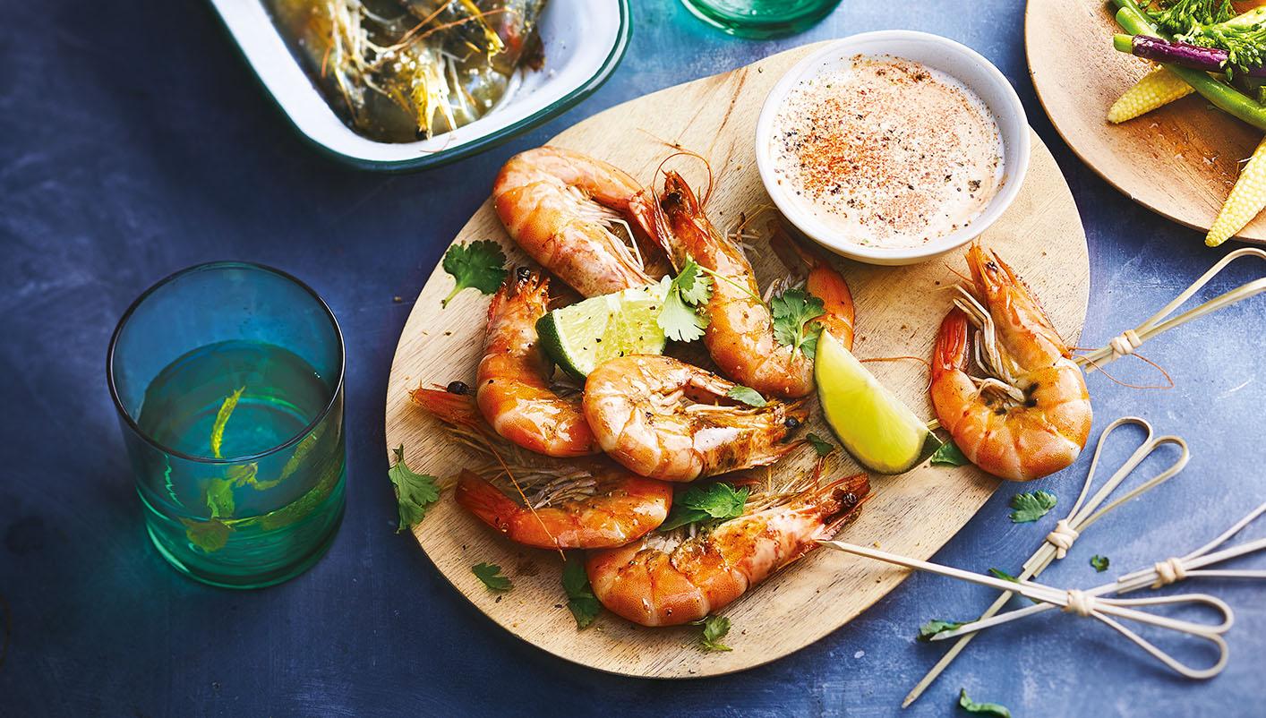 Crevettes entières cuites biologiques