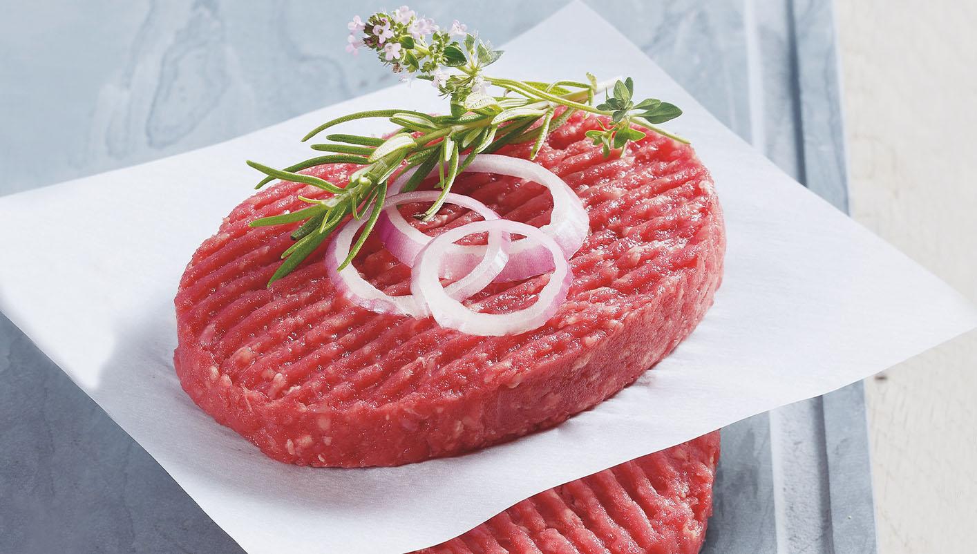 20 Steaks hachés pur boeuf 15% M.G.
