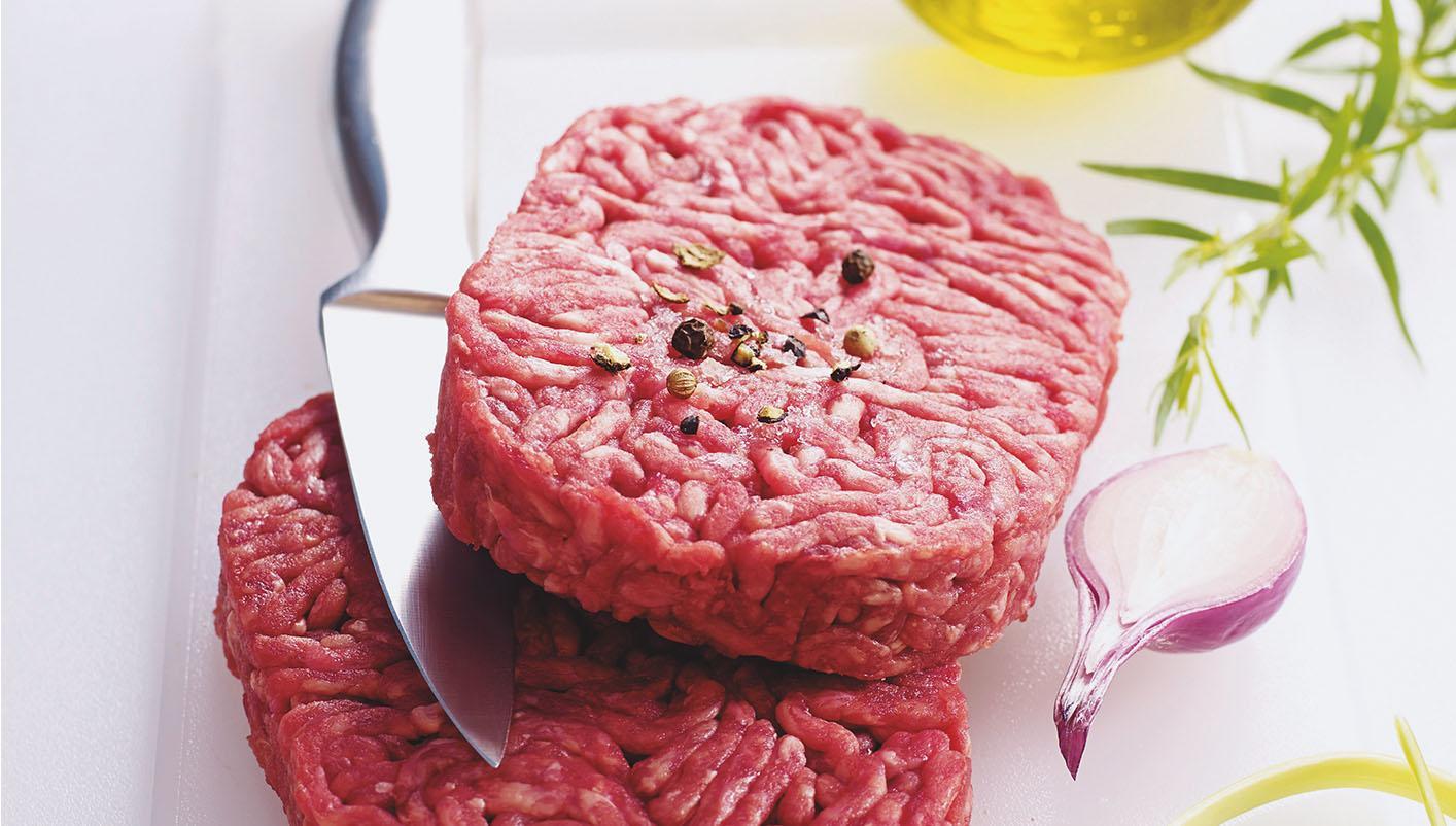 8 Steaks hachés pur boeuf 15% MG