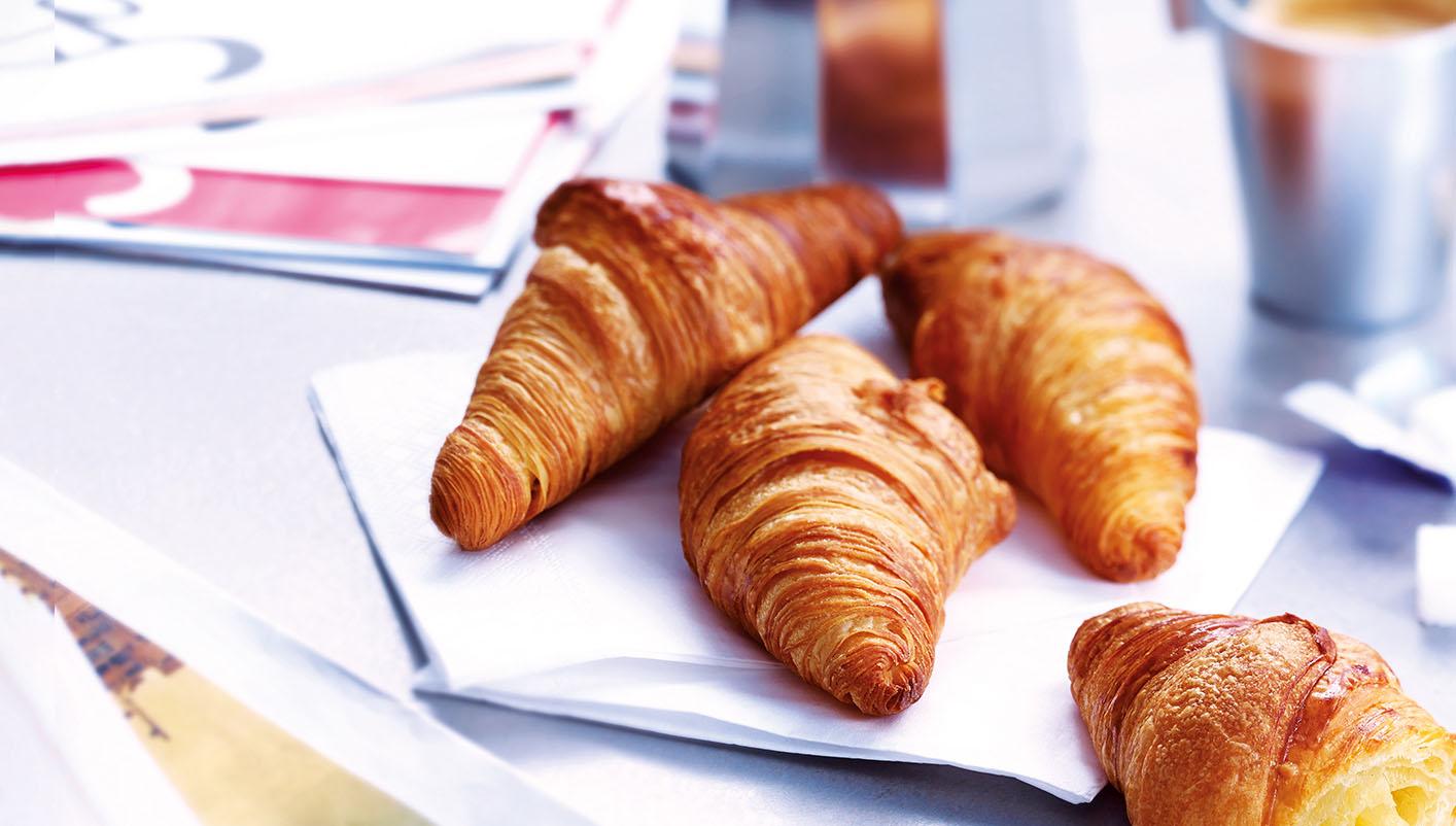10 Mini croissants pur beurre
