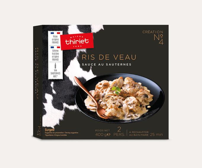 Ris de veau, sauce au Sauternes