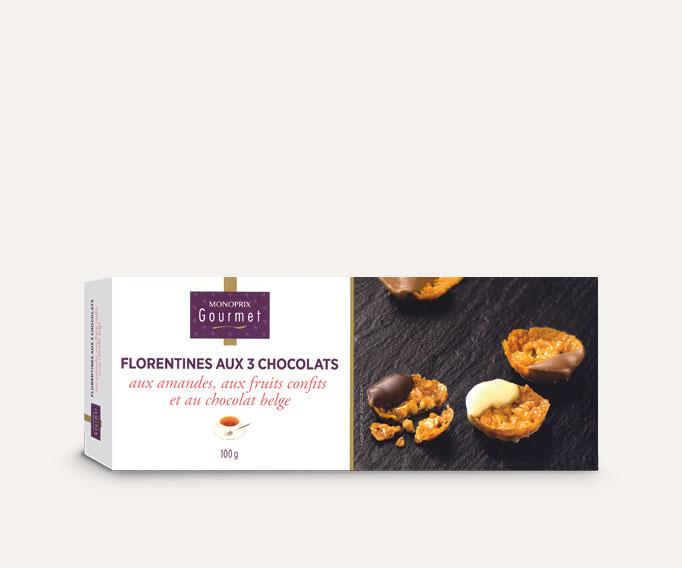 Florentines 3 chocolats