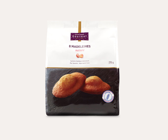 8 Madeleines natures