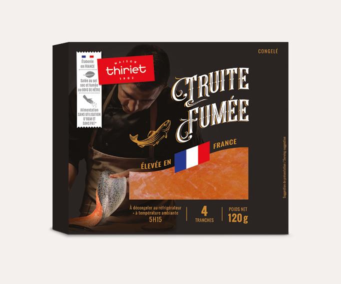 Truite fumée de France