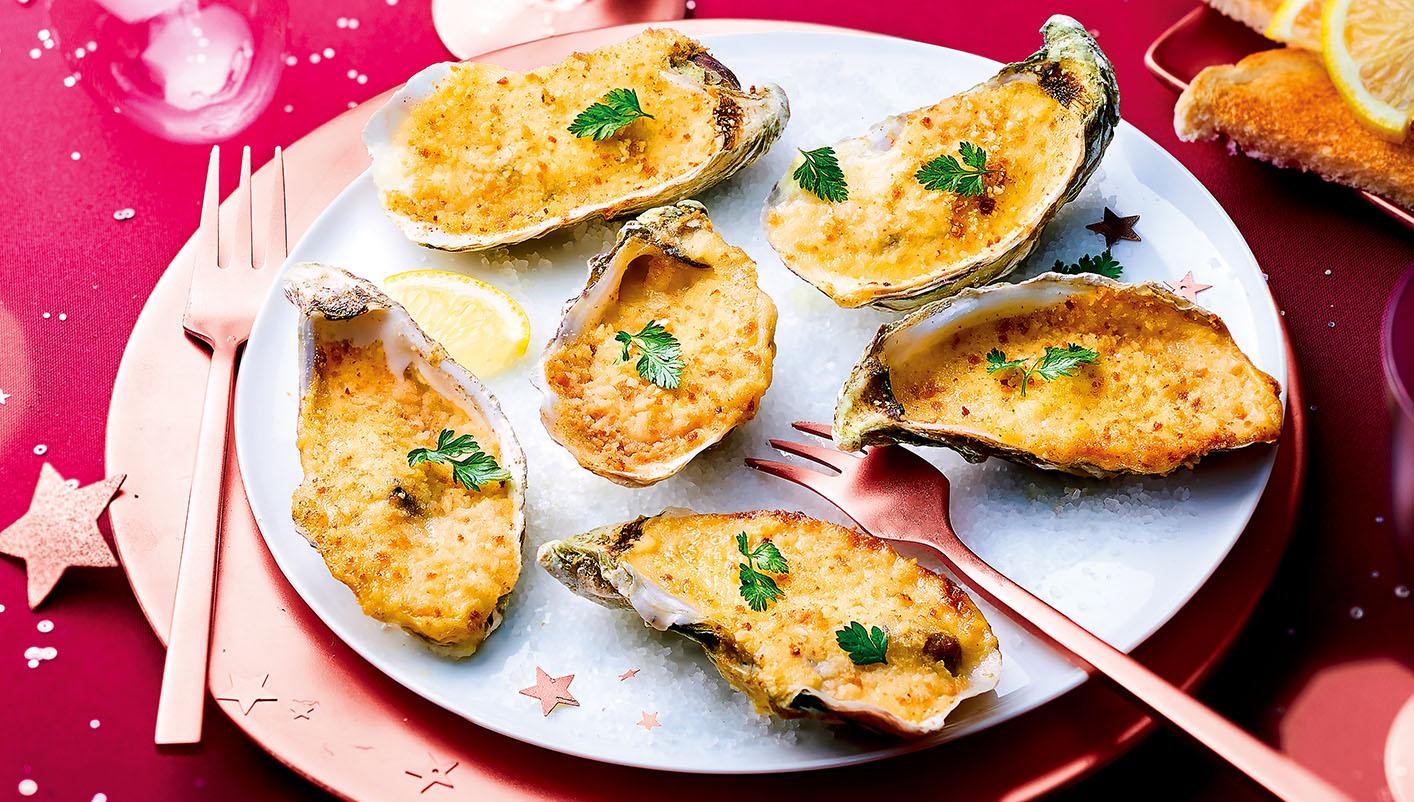 6 Huîtres de Bretagne au sabayon – Muscadet AOC*