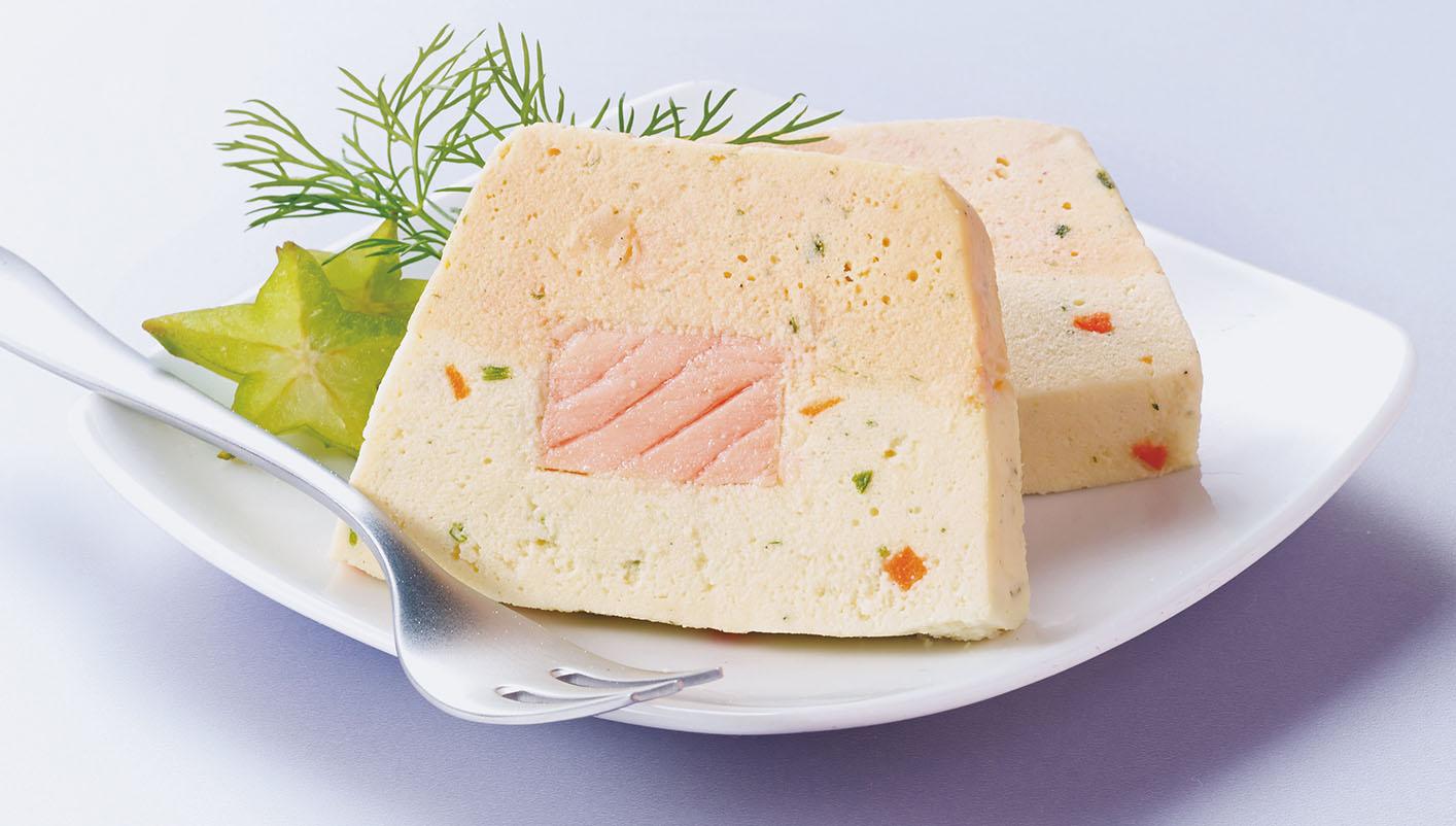 4 Tranches de terrine au saumon