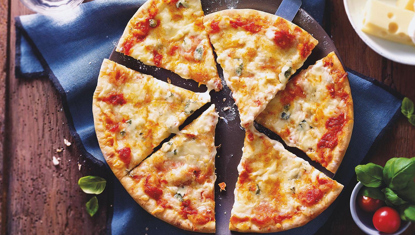 Pizza 4 fromages Lot de 2 boîtes au choix