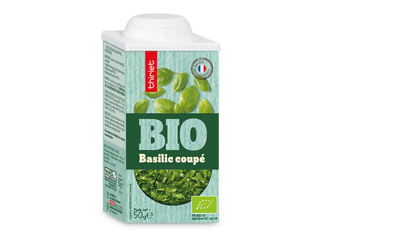 Basilic coupé biologique