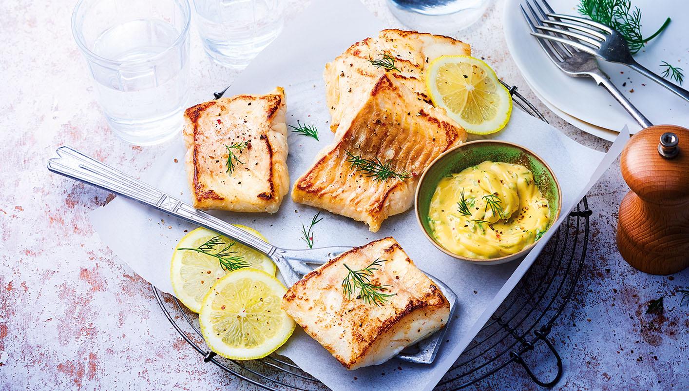 Filets de julienne coupés en portions