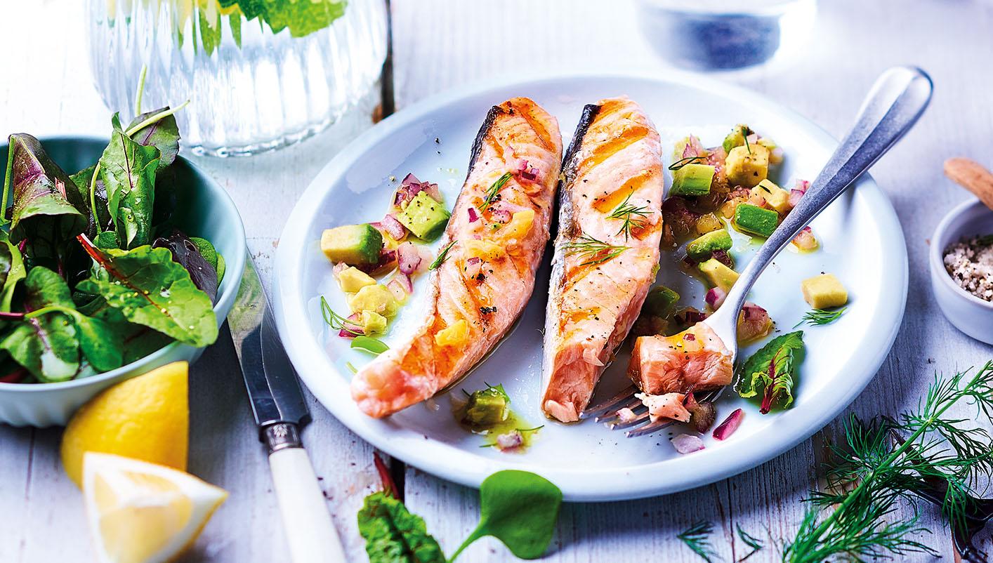10 Pavés de saumon Atlantique avec peau