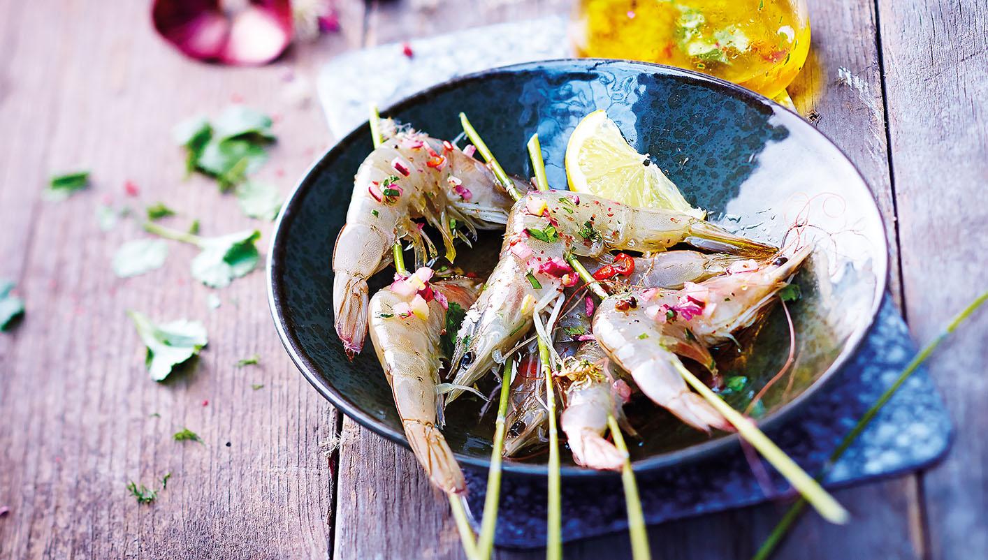 Crevettes entières crues biologiques Lot de 2 boîtes